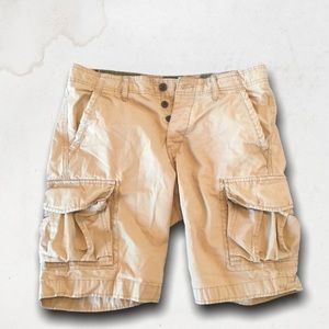 JACK & JONES Preston Classic Beige Cargo Shorts